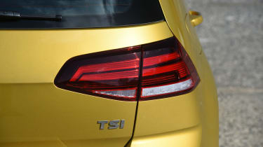 Honda Civic vs Volkswagen Golf vs Renault Megane - golf rear light