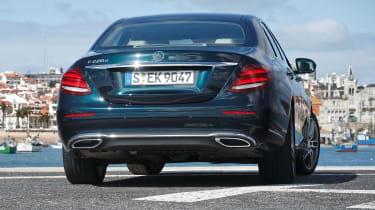 Mercedes E-Class - rear static