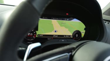 audi rs 3 saloon instruments virtual cockpit