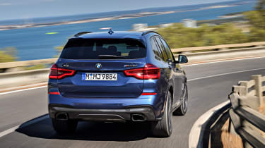BMW X3 M40i - rear action