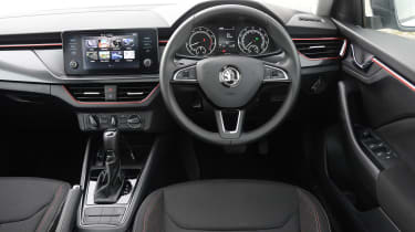 Skoda Scala - long termer dash