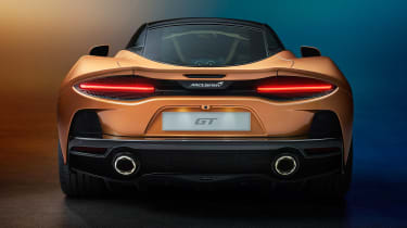 McLaren GT - full rear