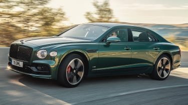 Bentley Flying Spur - front cornering