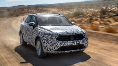 Volkswagen T-Roc prototype - front tracking