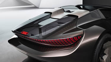 Audi skysphere concept - studio detail