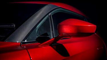 Aston Martin Vanquish Zagato - profile