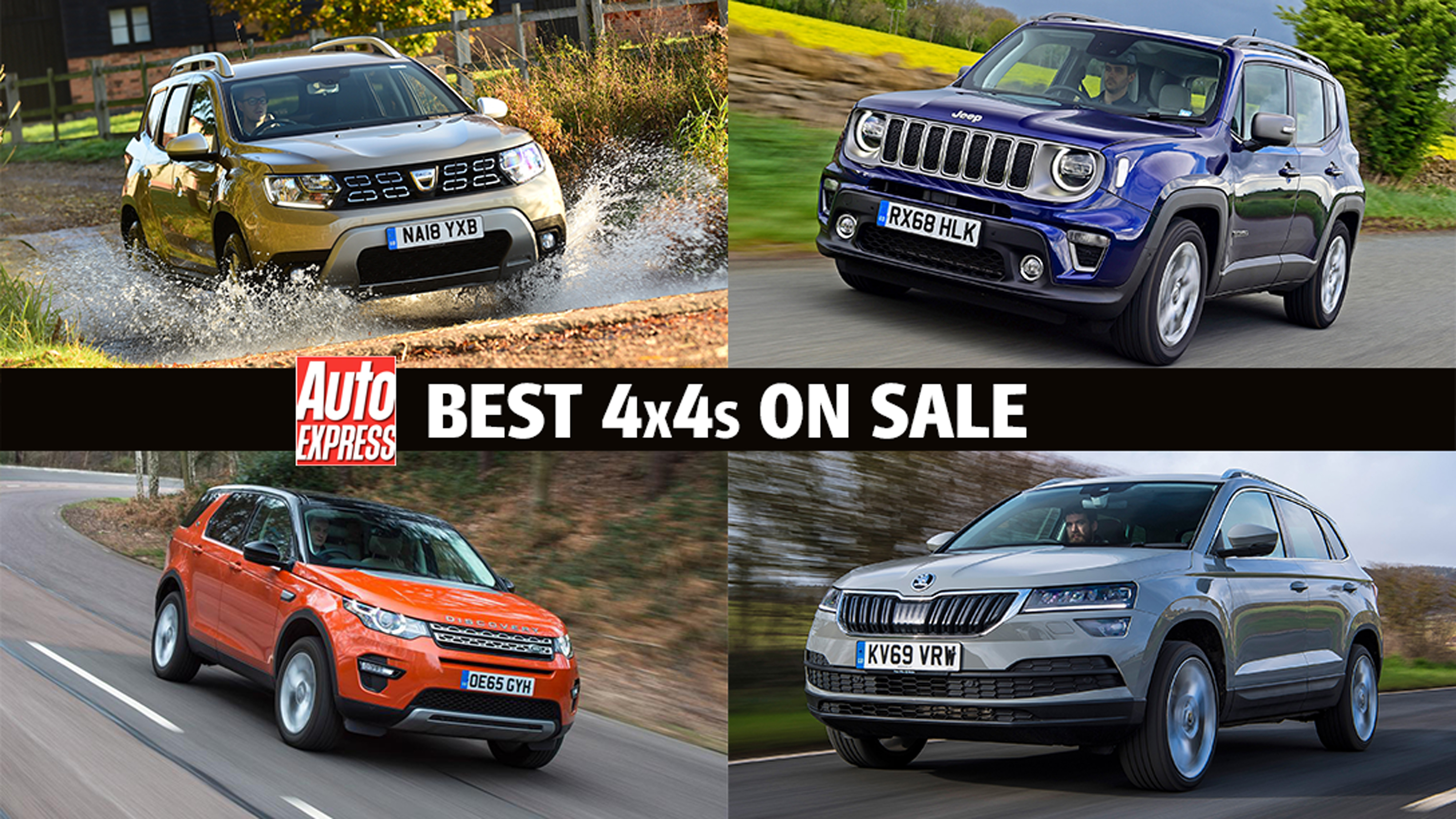 Best 4x4s To Buy 2021 Auto Express