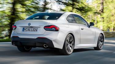 BMW 220i - rear