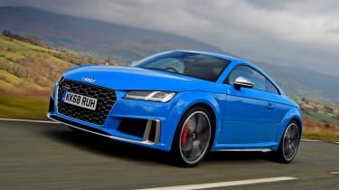 Audi TTS - front