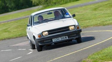 Top 10 worst cars - Austin Allegro front cornering 2