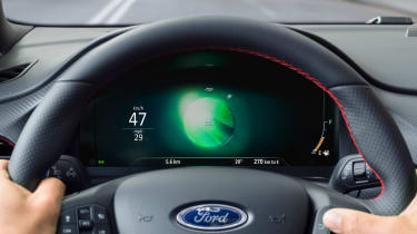 Ford Puma - dash eco