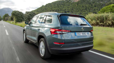 Skoda Kodiaq 1.4 TSI - rear action
