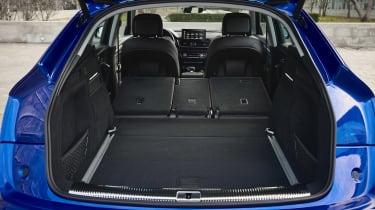 Audi Q5 Sportback - boot seats down