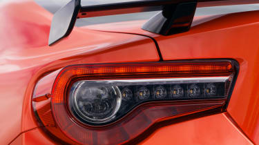 Toyota GT86 Orange Edition - taillight