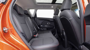 Kia Soul Sport - rear seats