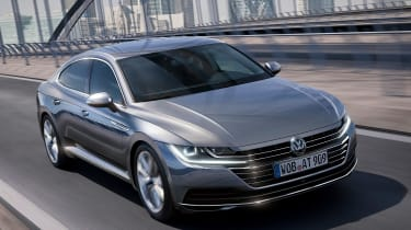 Volkswagen Arteon official - Elegance front tracking