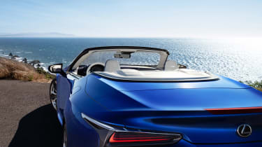 Lexus LC Convertible - rear detail