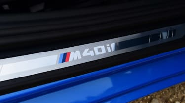 BMW Z4 M40i - sill