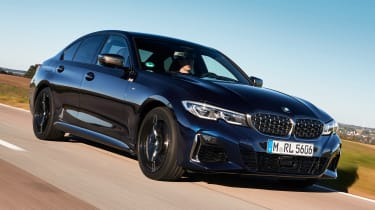 BMW M340i xDrive - front tracking
