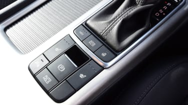 Kia Optima PHEV - buttons