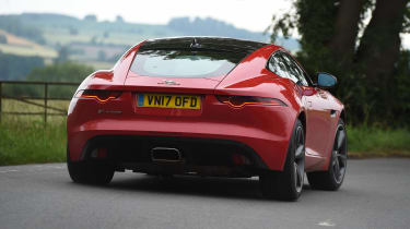 Jaguar F-Type 4-cylinder - rear