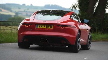 Jaguar F-Type 4-cylinder - rear