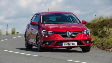 Renault Megane diesel - front cornering