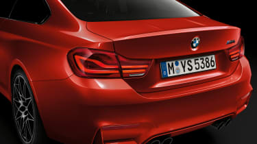 BMW 4 Series facelift 2017 - M4 rear detail