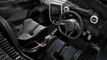 Lego McLaren Senna - interior