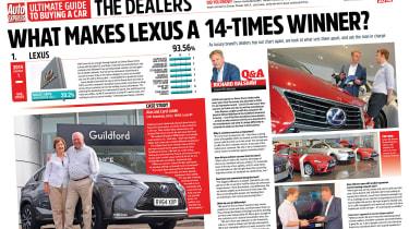 Lexus 14 in a row