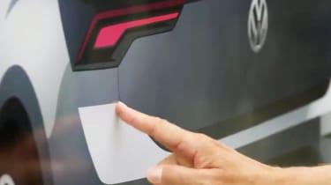 Volkswagen T-Roc teaser rear