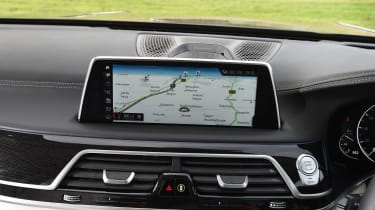 BMW 7 Series - sat-nav