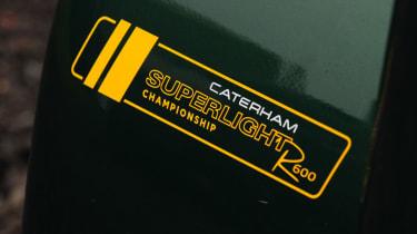 Caterham R600 badge