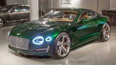 Bentley EXP 10 Speed 6 feature - front