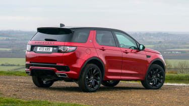 Land Rover Discovery Sport - rear static