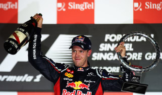 Vettel wins in Singapore