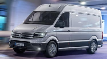 VW Crafter - front