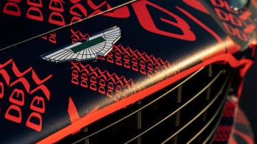 Aston Martin DBX - pre-production model  - badge