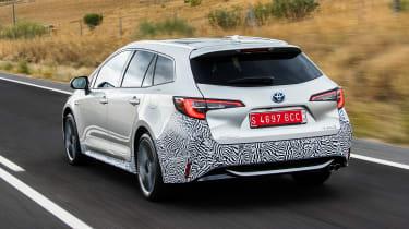 Toyota Corolla Touring Sports prototype - rear