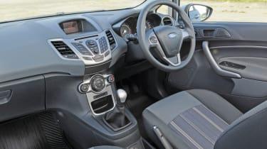 Ford Fiesta Edge interior