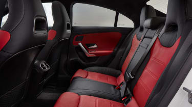 Mercedes CLA 250 AMG Line - rear seats