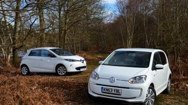 Volkswagen e-up! vs Renault ZOE 2