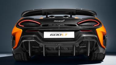 McLaren 600LT - full rear