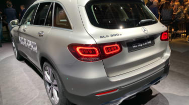 mercedes glc facelift geneva