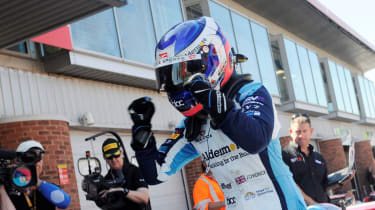 Jamie Chadwick - victory