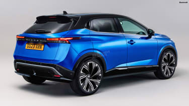 Nissan Juke EV - rear (watermarked)
