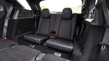 Mercedes GLE - back seats