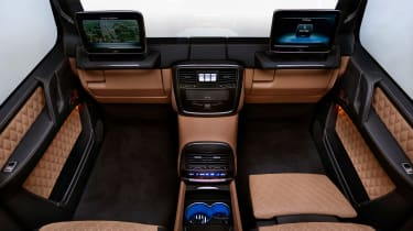 Mercedes-Maybach G 650 Landaulet rear seats