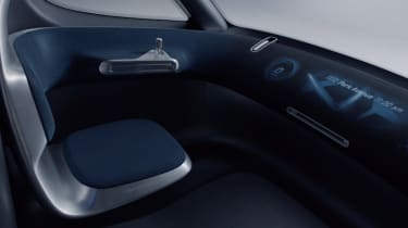 Mercedes Vision Van - video interior