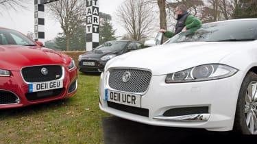 Jaguar XF at Goodwood